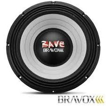 Auto Falante Woofer Bravox Rave Rv15- 2.2kw 15´´ 1100w Rms