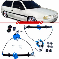 Kit Vidro Elétrico Sensorizado Gol Parati G2 95 96 97 98 99