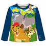 Remera Niños Manga Larga Disney Guardia Del Leon Mundomanias