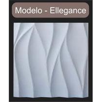 Placa Decorativa Mosaico Gesso 3d - Ellegance