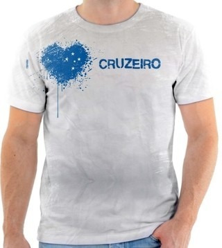 Camiseta Camisa Blusa Personalizada Estampa Cruzeiro 002 - R  60 638f6cb679eea