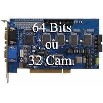 Placa Captura Gv800 64bits Ou Expansiva 32 Cameras