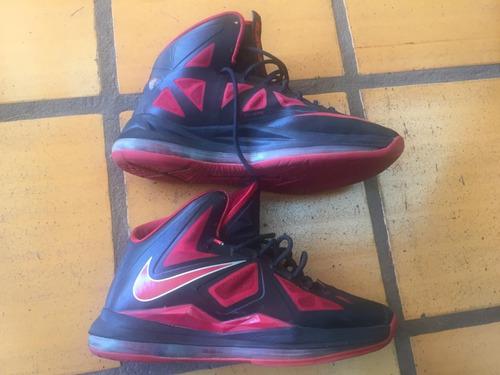 Nike Lebron James X - 10  heat Away  71af7c8bf2679