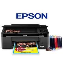 Sistema Continuo Para Impresoras Epson Cx, Tx, Xp Y L