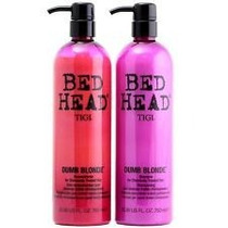 Kit Shampoo+condicionador Bed Head Dumb Blonde 750ml