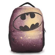 Mochila Escolar Infantil Xeryus Batman - Preto U