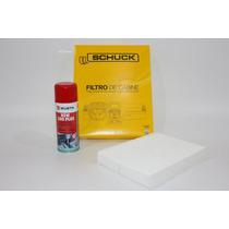 Filtro Ar Condicionado+higienizador Wurth Limão - Tiida