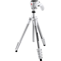 Manfrotto Tripie C/cabeza Compact Act. (mkcompactacn-wh)