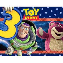Kit Imprimible Toy Story 3 Tarjetas Cotillon Cumpleaños