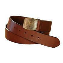 Cinturon De Cuero John Deere Original