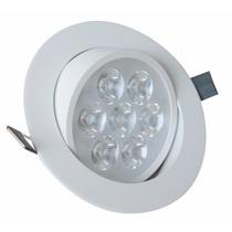 Kit 23 Spot Led 7w Lampada Dicroica Direcionável Branco Frio