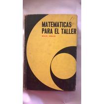 Matematicas Para El Taller Edicion De Lujo Pasta Dura
