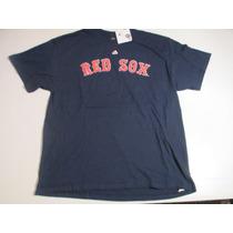 Remera Baseball Boston Red Sox Majestic Napoli 12 Talle Xl