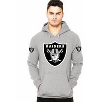 Blusa Moleton Oakland Raiders Nfl A Melhor