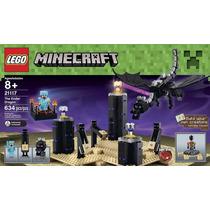 Lego El Dragón Ender Minecraft Original 21117