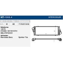 Radiador Intercooler Mercedes Sprinter Turbo - Novo Na Caixa