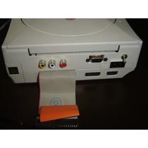 Dreamcast Con Hdd,vga, Rca,cambio Region,led Lectura, Sd