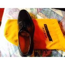 Zapatos Flosheim Imperial Color Negro Talla 40 7.5. Nuevo