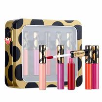 Kit Gloss Matte Sephora - Coleção Minnie C/ Maletinha