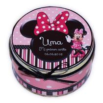 10 Latas Souvenirs Personalizadas Minnie!! Hermosas!!!