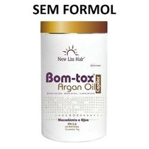 Botox Capilar S/ Formol New Liss Hair Oleo De Argan