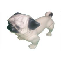 Manequim De Cachorro Modelo Pug P/ Pet Shop Loja Acessórios