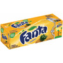 Refrigerante Fanta Pineapple - Sabor Abacaxi 12 Latas 355ml