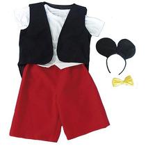 Fantasia Mickey Infantil P (3 A 4 Anos)