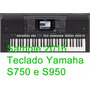 Sample 2016 Para Yamaha Psr-s750 E S950
