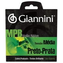 Encordoamento P/violão Genwbs Série Mpb Nylon Médio Giannini