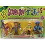 Kit Com 04 Bonecos Articulados Scooby Doo Roupas De Piratas