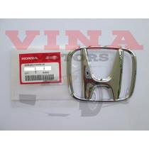 Emblema Grade Parachoque Dianteiro Original Honda Cr-v 10-11