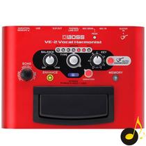 Pedal Processador Efeito De Voz Boss Ve2 Vocal Harmonist