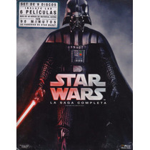 Star Wars La Saga Completa Boxset Peliculas Blu-ray