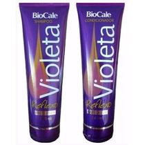 Kit Matizador Reflexo Violeta Shampoo + Cond. Biocale
