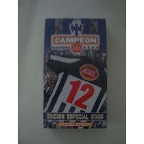 Vhs Monterrey Campeon 2003 Edicion Especial De Colección