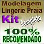 Modelagem Completa Roupa Lingerie Praia Biquini Sutiã Moldes