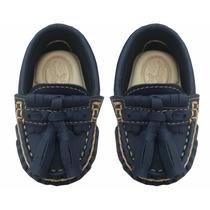 Sapatinho Sapato Infantil Mocassim Cravinho Masculino 9786