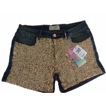 Short Jeans Feminino Roupas Femininas By Unna Tamanho 38