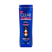 Shampoo Clear Men Anticaspa Queda Control Com 200 Ml