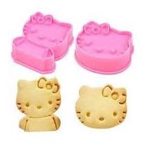 Moldes Cortantes Marcador Hello Kitty Reposteria Galletas