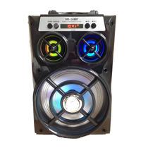 Caixa De Som Bluetooth Amplificadora Ms168bt Fm Alto Falante