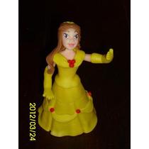 Princesa Bella En Porcelana Fría Para Tu Torta