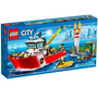 60109 Lego City Barco De Combate Ao Incêndio 412 Peças