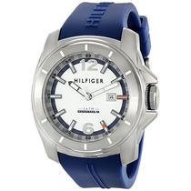 Reloj Original Tommy Hilfiger Hombre Sport Azul