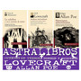 Paquete Edgar Allan Poe Lovecraft Maupassant 3 Libros