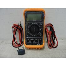 Multímetro Digital Con Base Y Protector Adir 449
