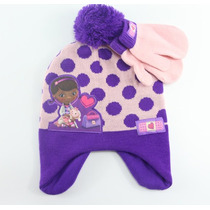Touca Com Luva Infantil Personagens Inverno