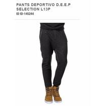 Jogger Pants Deportivo D.e.e.p Selection L13p