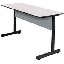 Mesa para escritorio em a o m veis para escrit rio no - Protector mesa escritorio ...